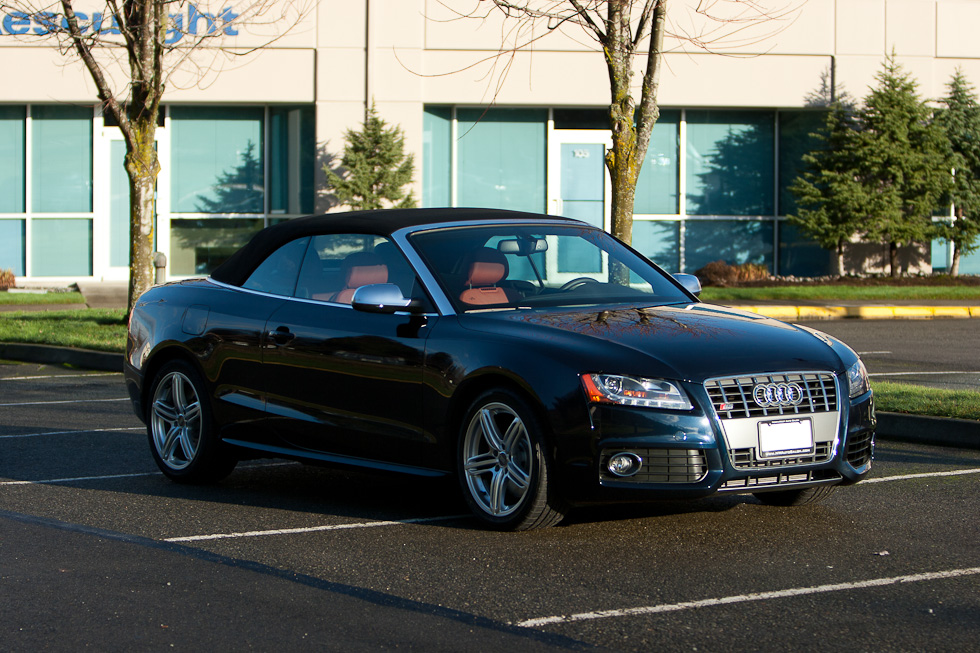 Deep Sea Blue 2011 Audi S5 Cabriolet